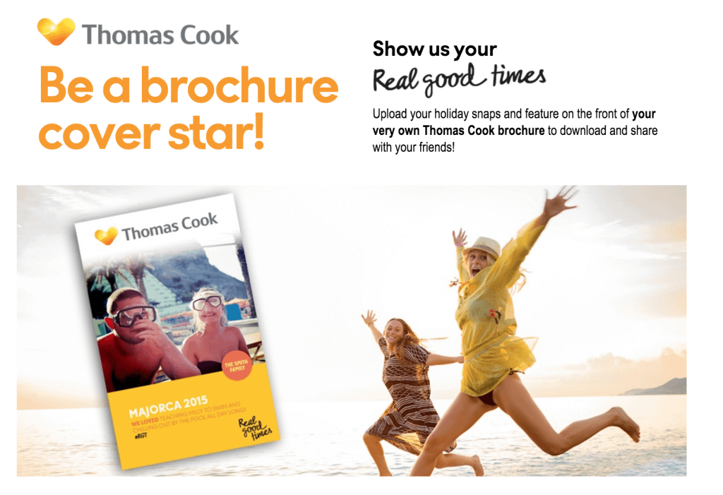 be a brochure cover star